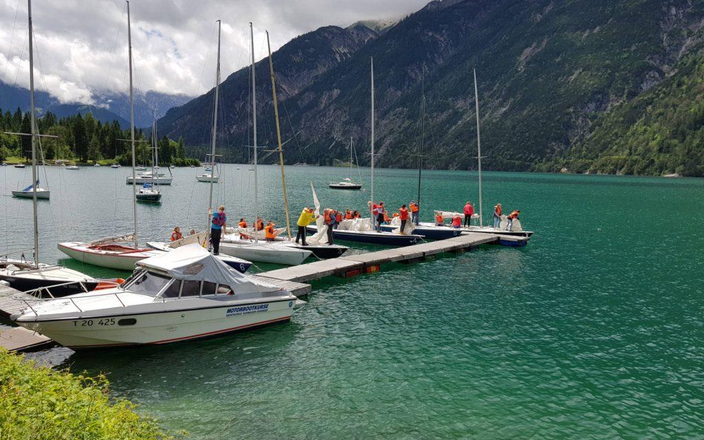 segeln achensee yachtschule schwaiger